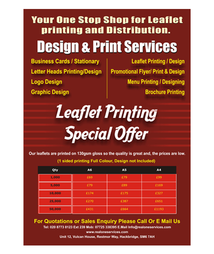 Flyer Design Services in Delhi